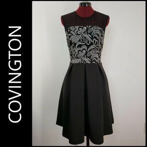 Covington Women's Sleeveless Fit & Flare Dress 12